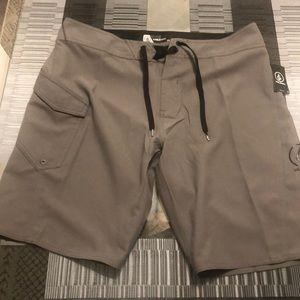 New Men's Volcom Handler Board Shorts 34